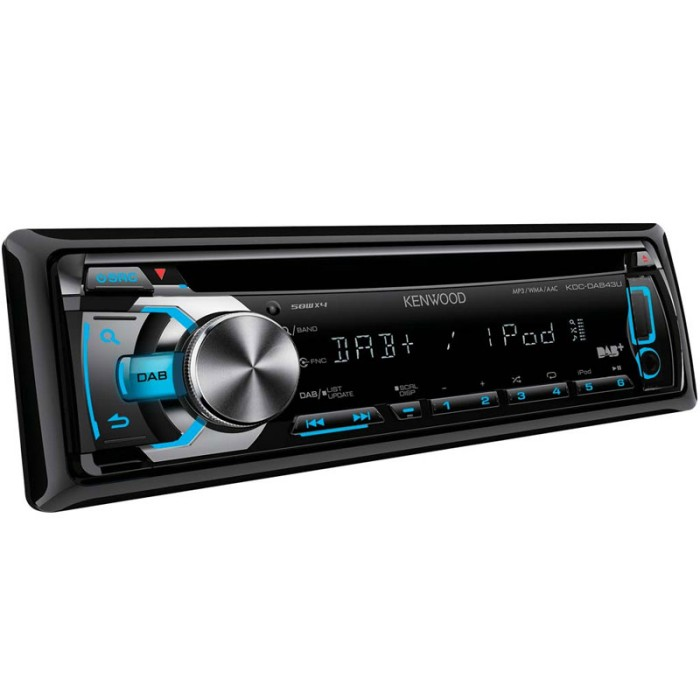 CD/MP3 Player Kenwood KDC-DAB43U 3