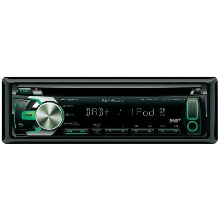 CD/MP3 Player Kenwood KDC-DAB43U 2