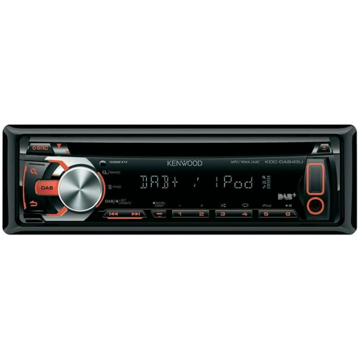 CD/MP3 Player Kenwood KDC-DAB43U 1