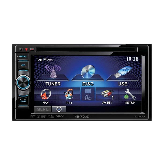 Double din screen Kenwood DDX-3023