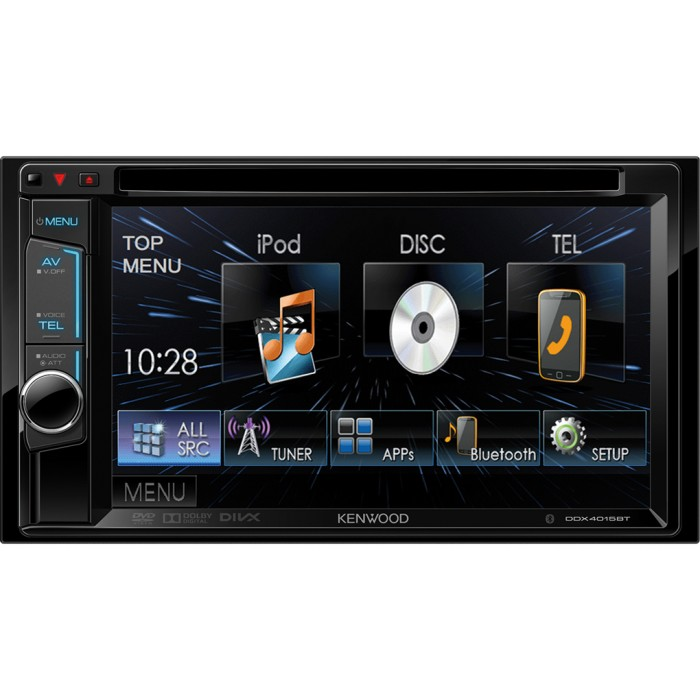 Double din screen Kenwood DDX4015BT 2