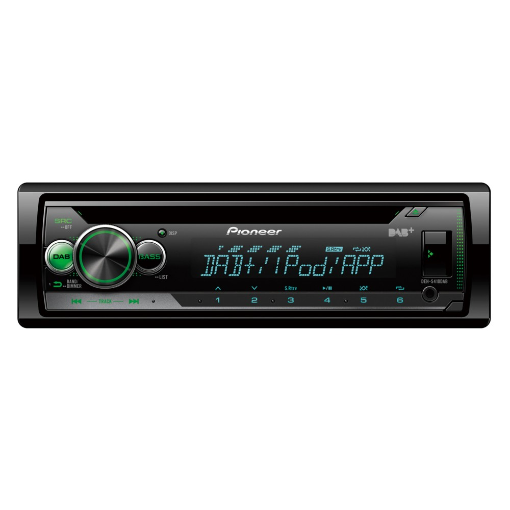 iPhone Compatible Pioneer DEHS410DAB