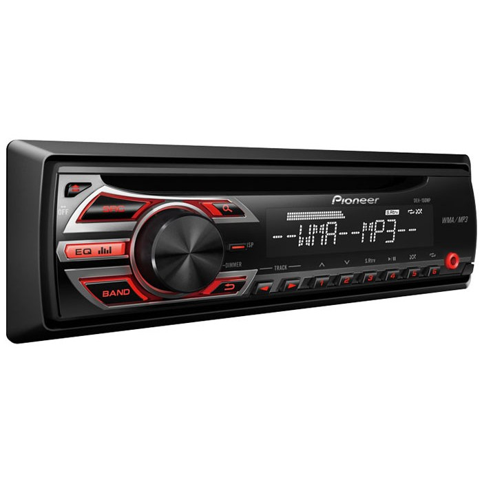 Pioneer deh 150mp cdmp3 car stereo with front aux input cdmp3 player pioneer deh 150mp 1 publicscrutiny Choice Image