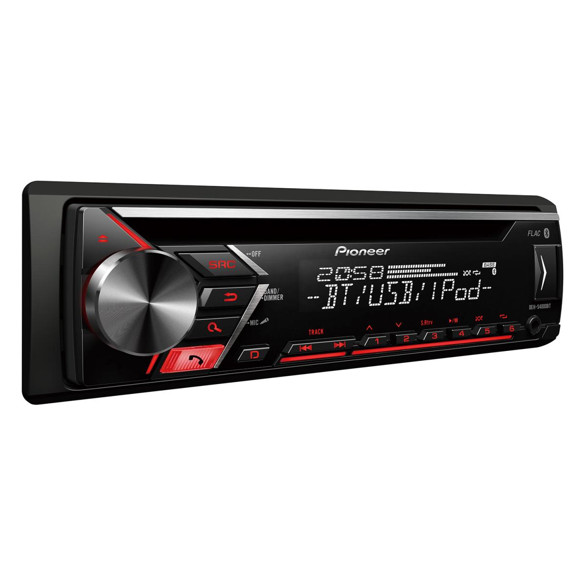 Bluetooth Compatible Pioneer DEH-S4000BT