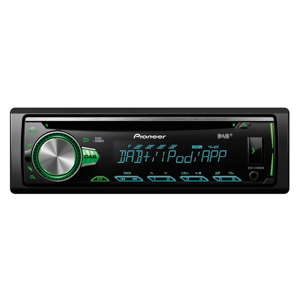 iPhone Compatible Pioneer DEH-S400DAB 1