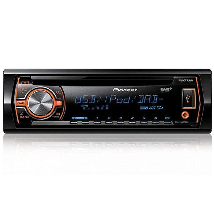 Aux in Pioneer DEH-X6500DAB