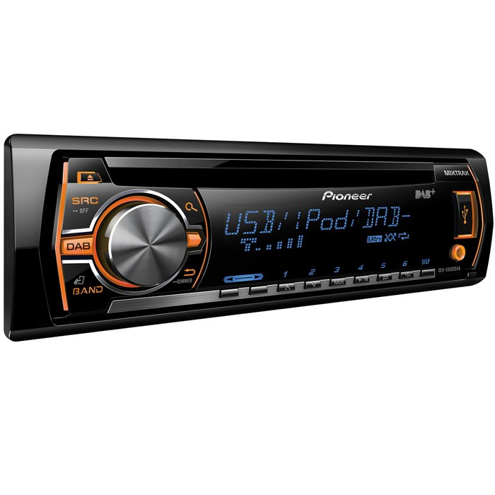 Aux in Pioneer DEH-X6500DAB 1