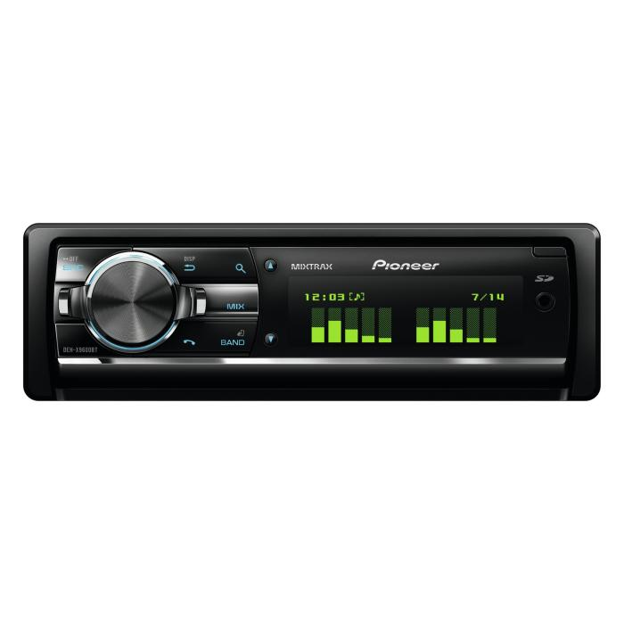Aux in Pioneer DEH-X9600BT