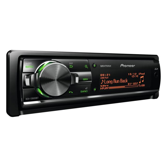 Aux in Pioneer DEH-X9600BT 2