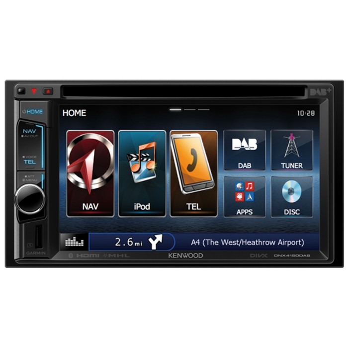 In Car Sat Nav Kenwood Car Audio DNX-4150DAB 1