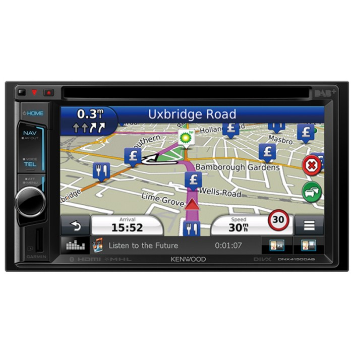 "DNX-4150DAB 6.1"" touch screen AV navigation unit with ..."