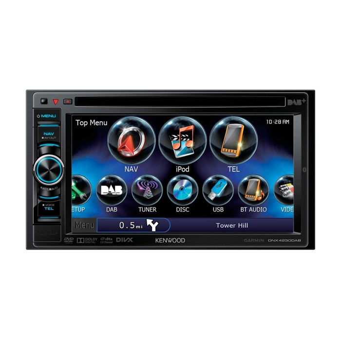 In Car Sat Nav Kenwood Car Audio DNX-4230DAB
