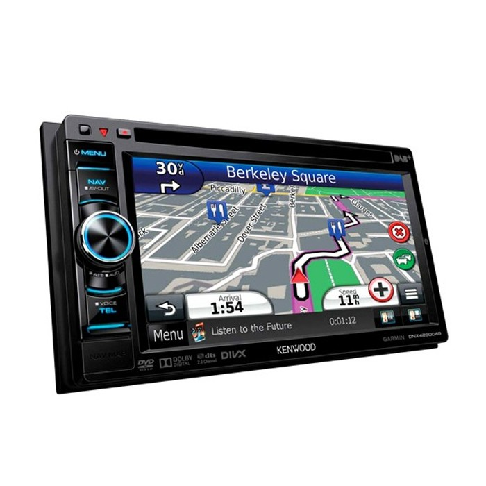 In Car Sat Nav Kenwood Car Audio DNX-4230DAB 1