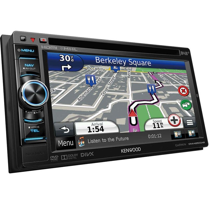 dnx 4250dab double din dab navigation system with built in b. Black Bedroom Furniture Sets. Home Design Ideas