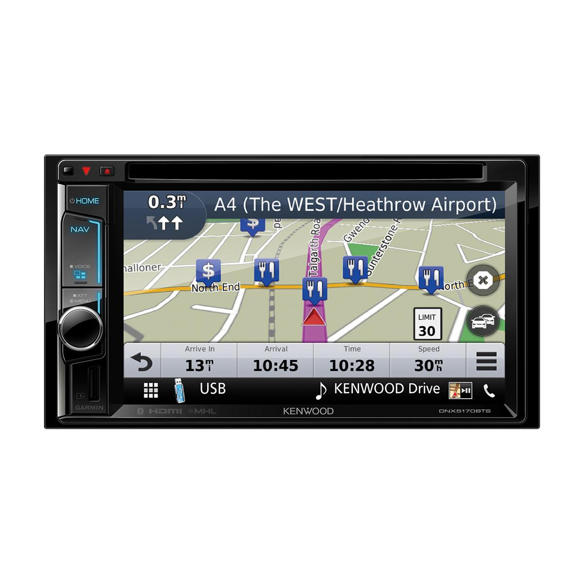 In Car Sat Nav Kenwood Car Audio DNX-5170BTS 2