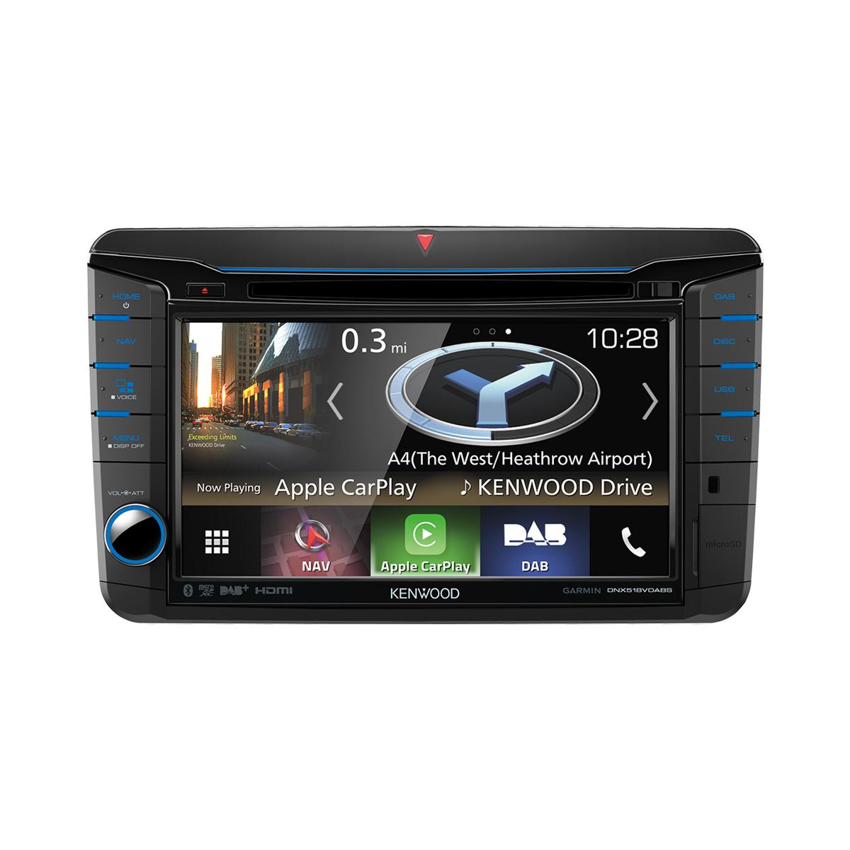 In Car Sat Nav Kenwood Car Audio DNX518VDABS 2