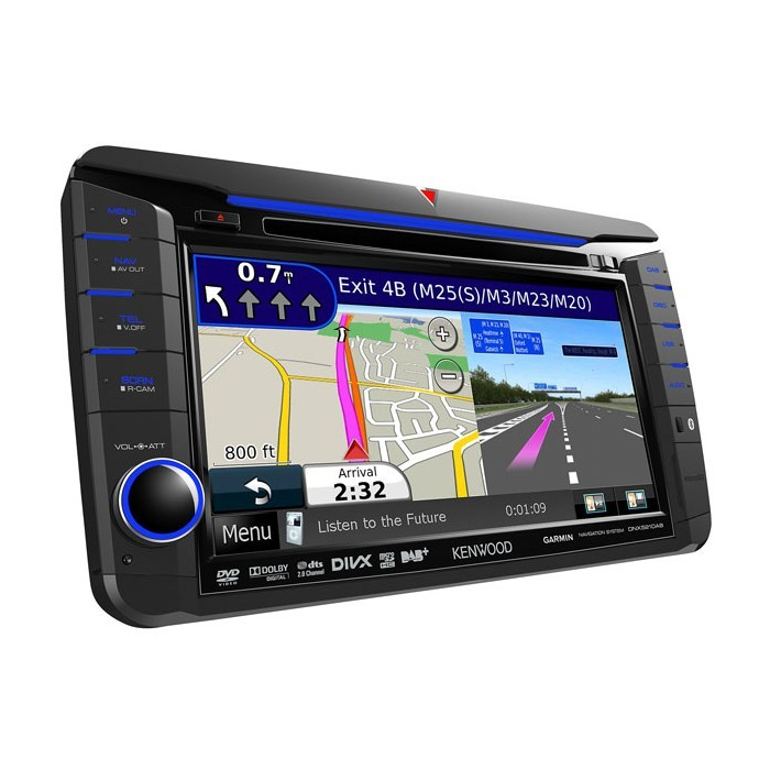 In Car Sat Nav Kenwood DNX-521DAB 1