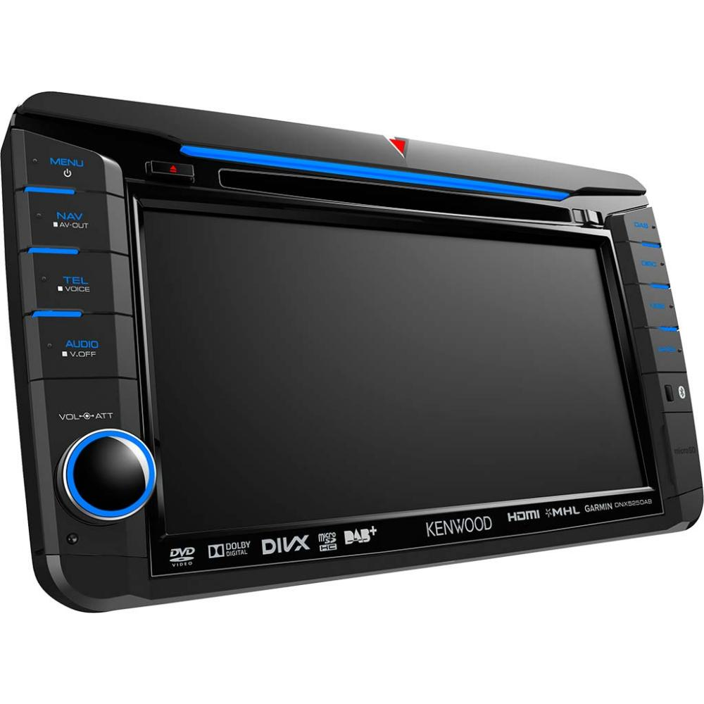 Dnx525dab 70 Sat Nav With Built In Dab Tuner For Vw Skoda Seat Kenwood Stereo Wiring Diagram Surround Sound Eos 1 2