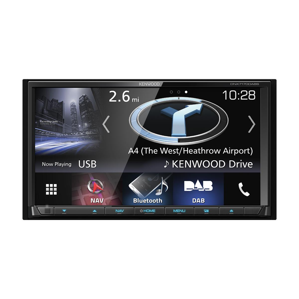 Fixed Sat Nav Kenwood DNX-7170DABS
