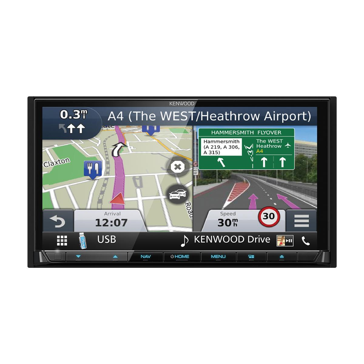 Fixed Sat Nav Kenwood DNX-7170DABS 4