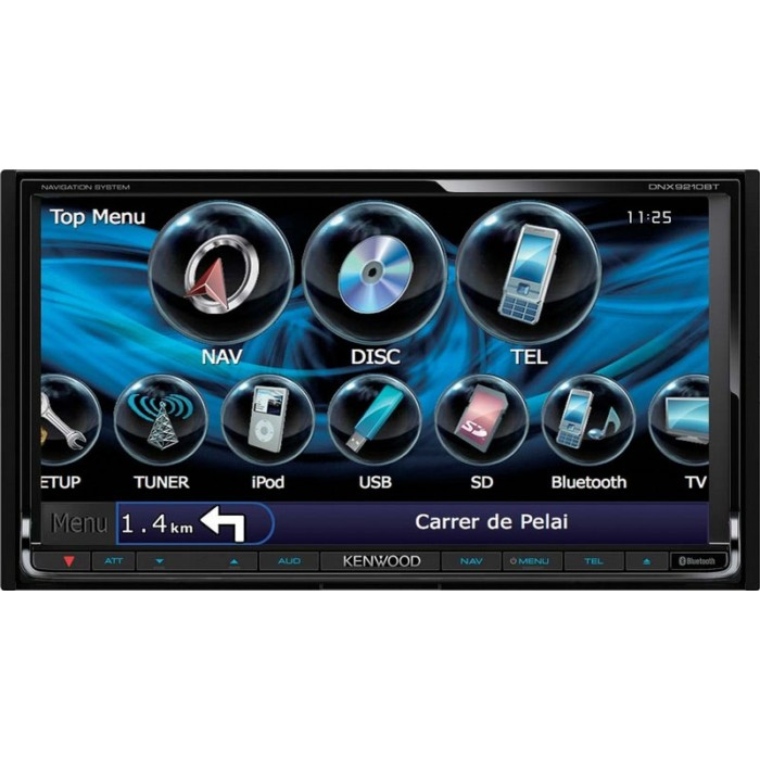 Fixed Sat Nav Kenwood DNX-9210BT