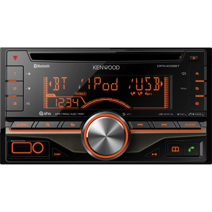 CD/MP3 Player Kenwood DPX-405BT 3