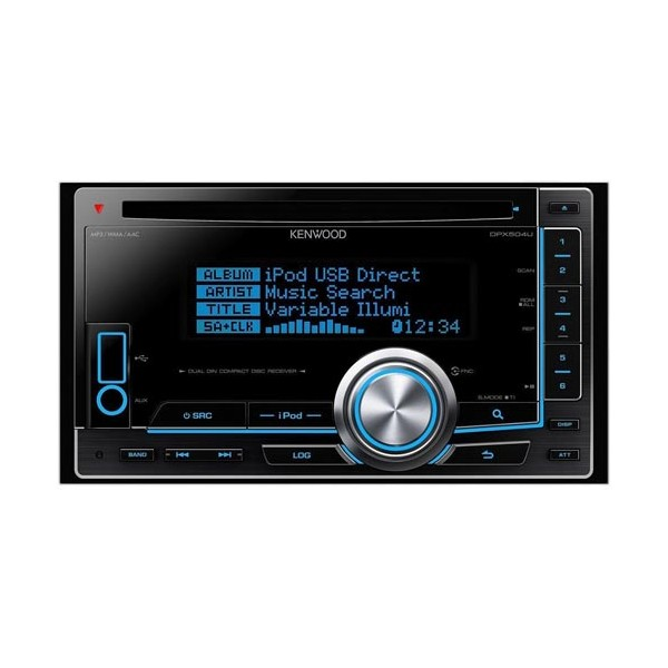 Double Din Kenwood DPX-504U