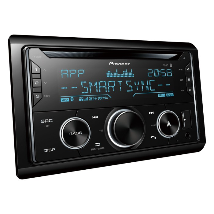 Double Din Car Stereos Pioneer FH-S720BT 1