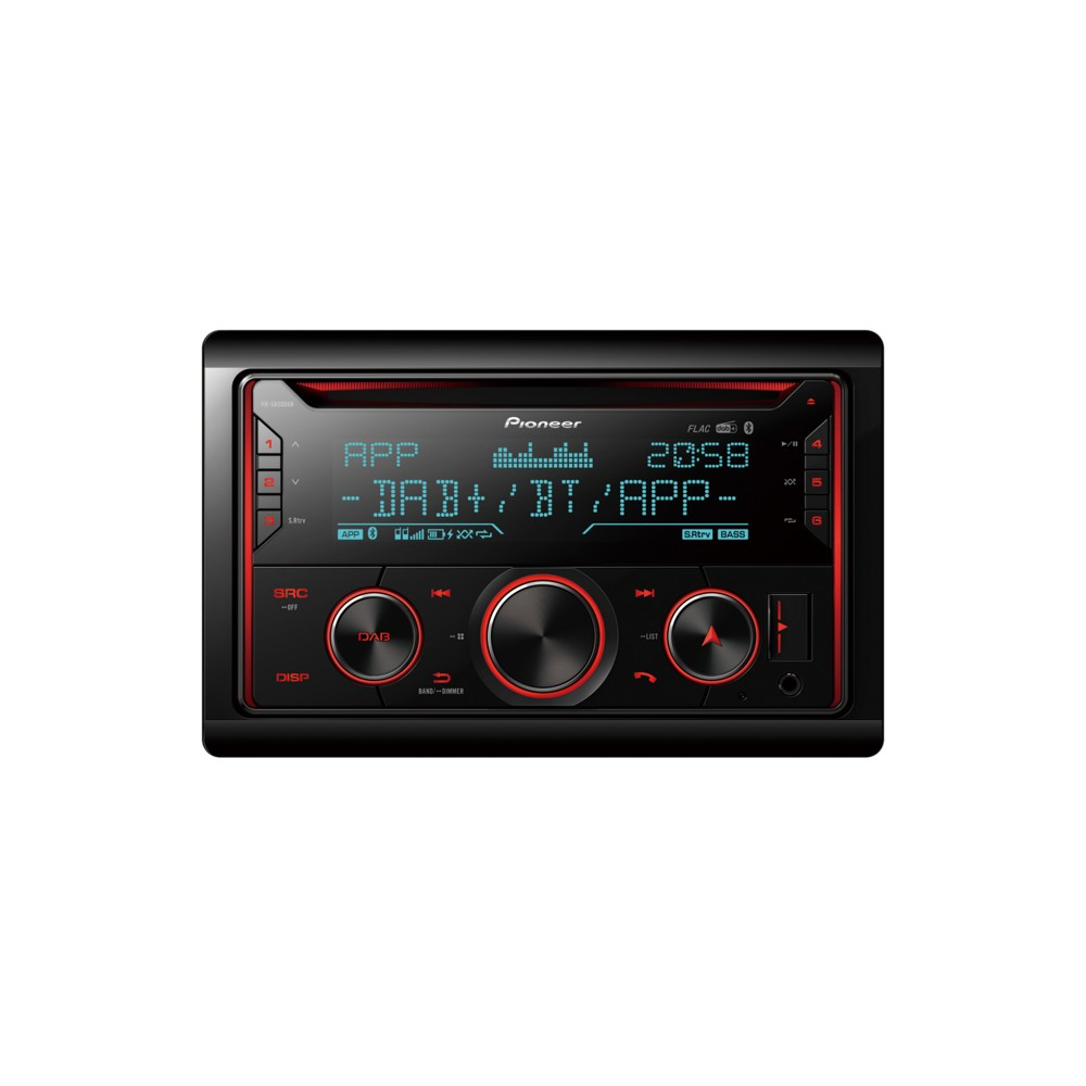 Bluetooth Compatible Pioneer FH-S820DAB