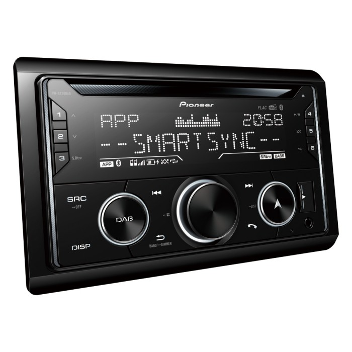 Bluetooth Compatible Pioneer FH-S820DAB 1