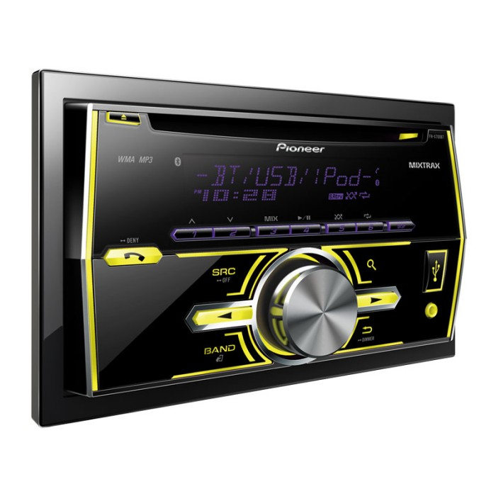 Double Din Car Stereos Pioneer FHX700BT 2