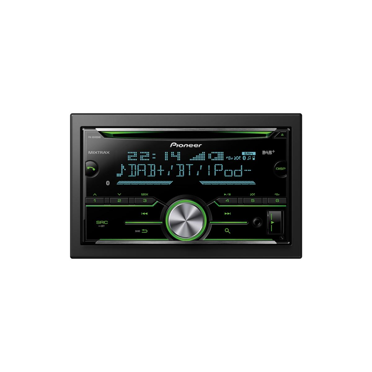Made for iPod/iPhone Pioneer FHX840DAB 1