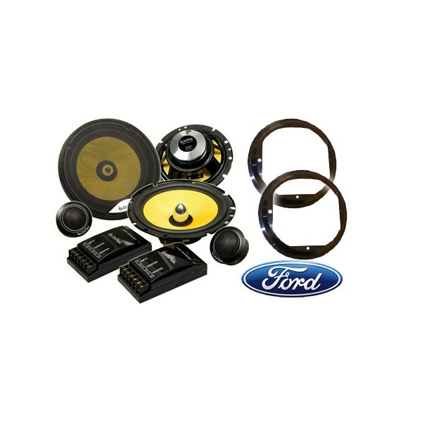 Car Speakers In Phase SXT6.1c Ford Focus 2007>