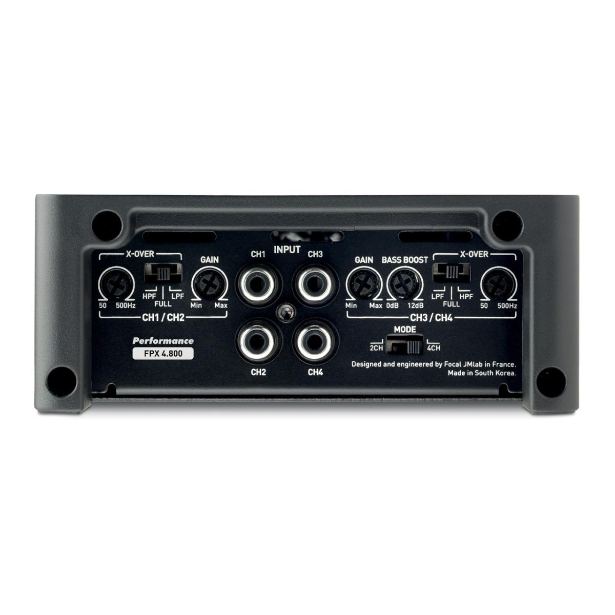 4 Channel Amplifiers Focal Car Audio FPX4.800 2