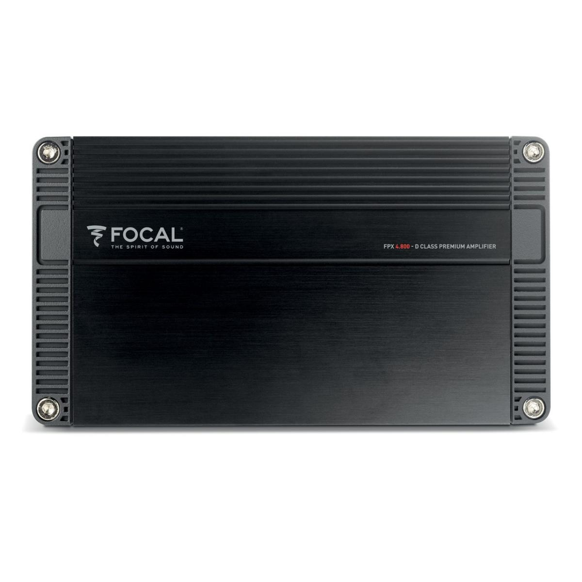 4 Channel Amplifiers Focal Car Audio FPX4.800 3