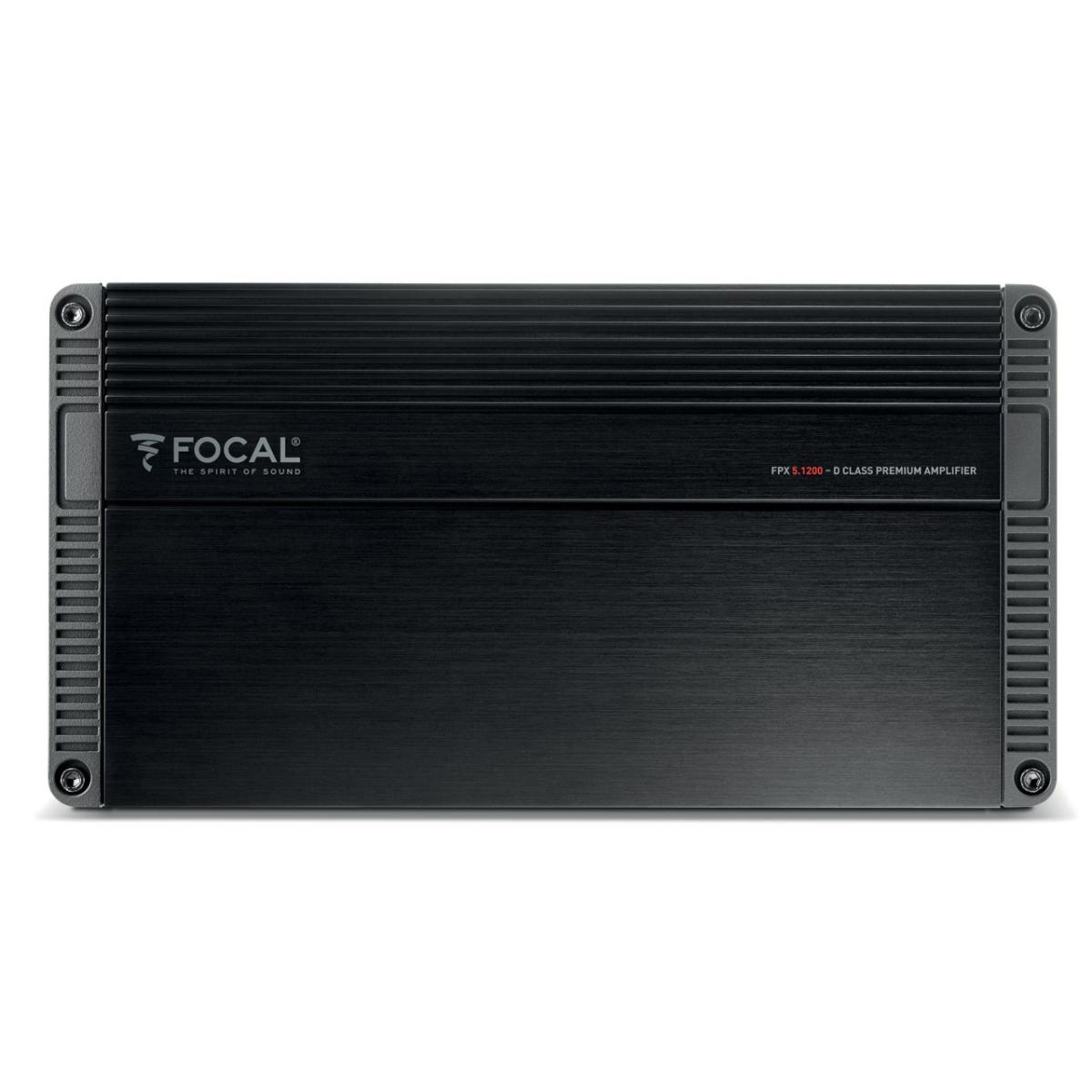 4 Channel Amplifiers Focal Car Audio FPX5.1200 3