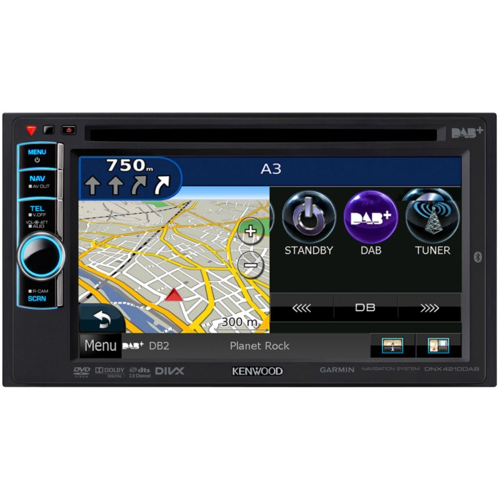 kenwood dnx 4210dab double din all in one nav system with. Black Bedroom Furniture Sets. Home Design Ideas