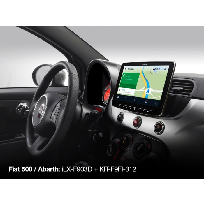 Stereo Fitting Alpine Car Audio Systems KIT-F9FI-312I 3