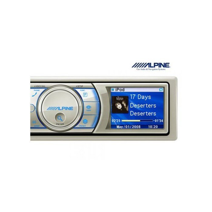 iPhone Compatible Alpine Car Audio Systems IDA-X100M