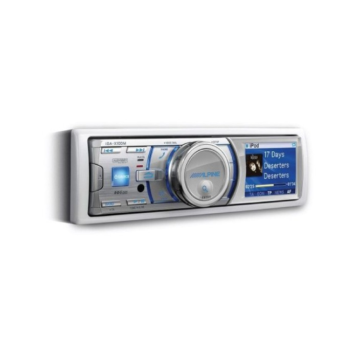 iPhone Compatible Alpine Car Audio Systems IDA-X100M 2