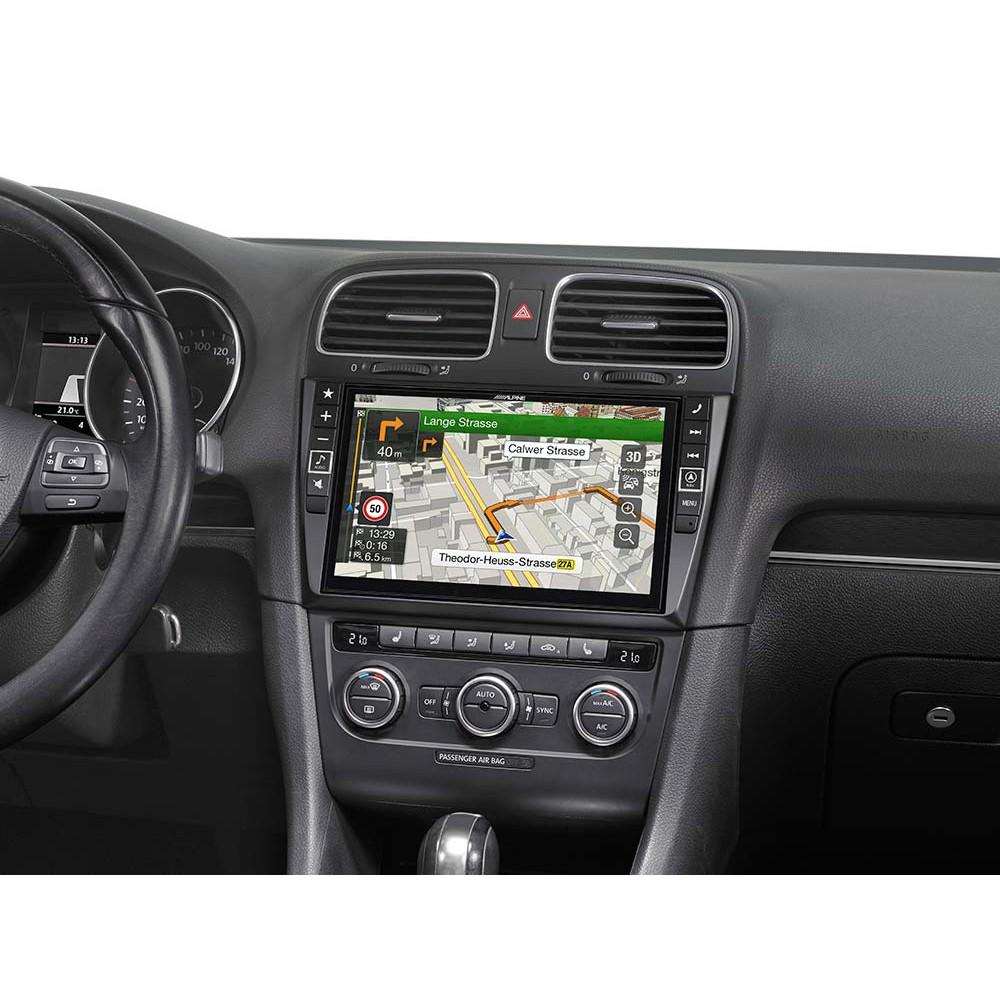alpine x901d g6 navigation system for vw golf 6. Black Bedroom Furniture Sets. Home Design Ideas
