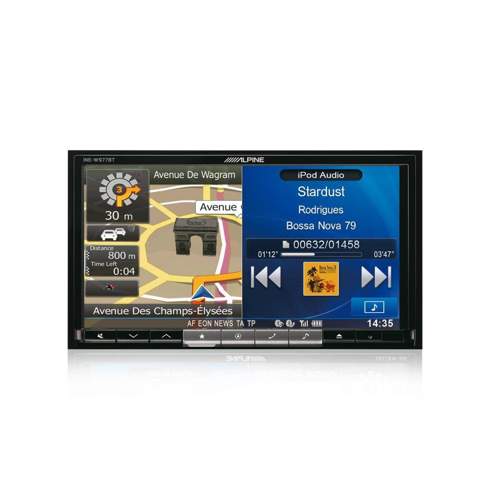 Fixed Sat Nav Alpine INE-W977BT 1