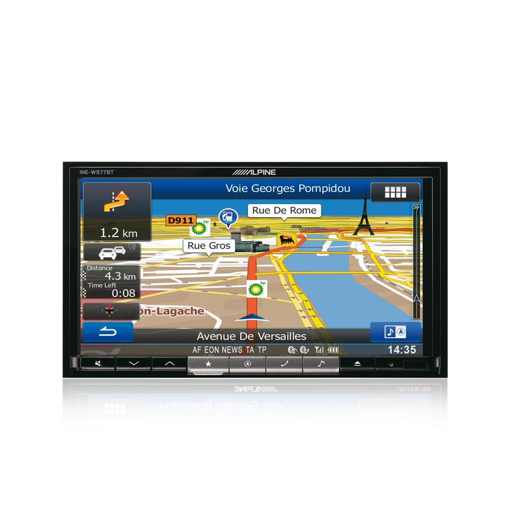 Fixed Sat Nav Alpine INE-W977BT 2