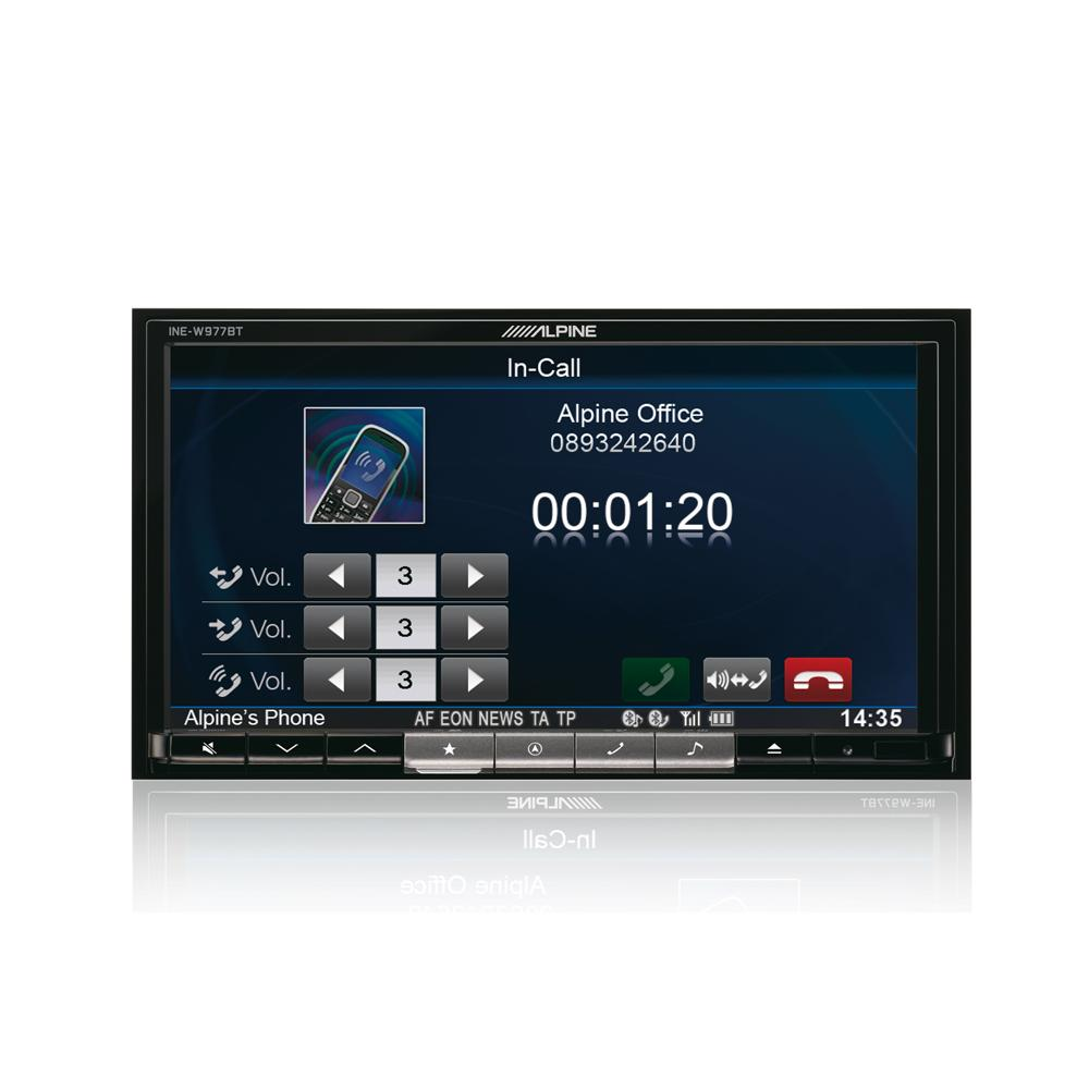 Fixed Sat Nav Alpine INE-W977BT 3