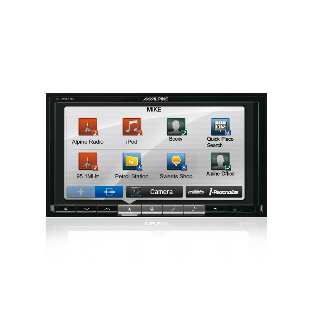 Fixed Sat Nav Alpine INE-W977BT 4