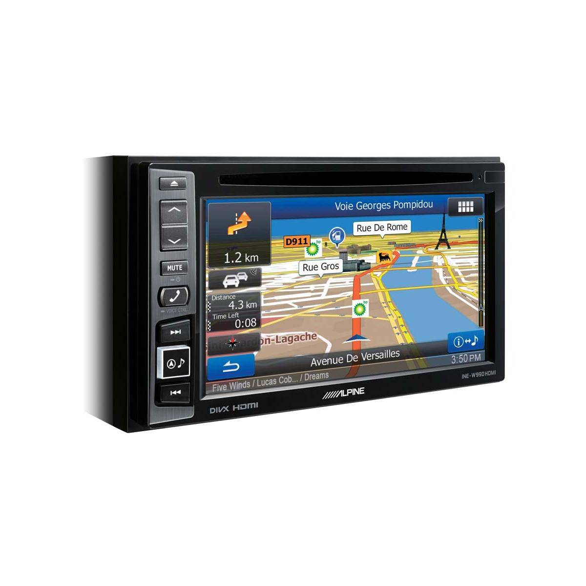 In Car Sat Nav Alpine Car Audio Systems INE-W990HDMI