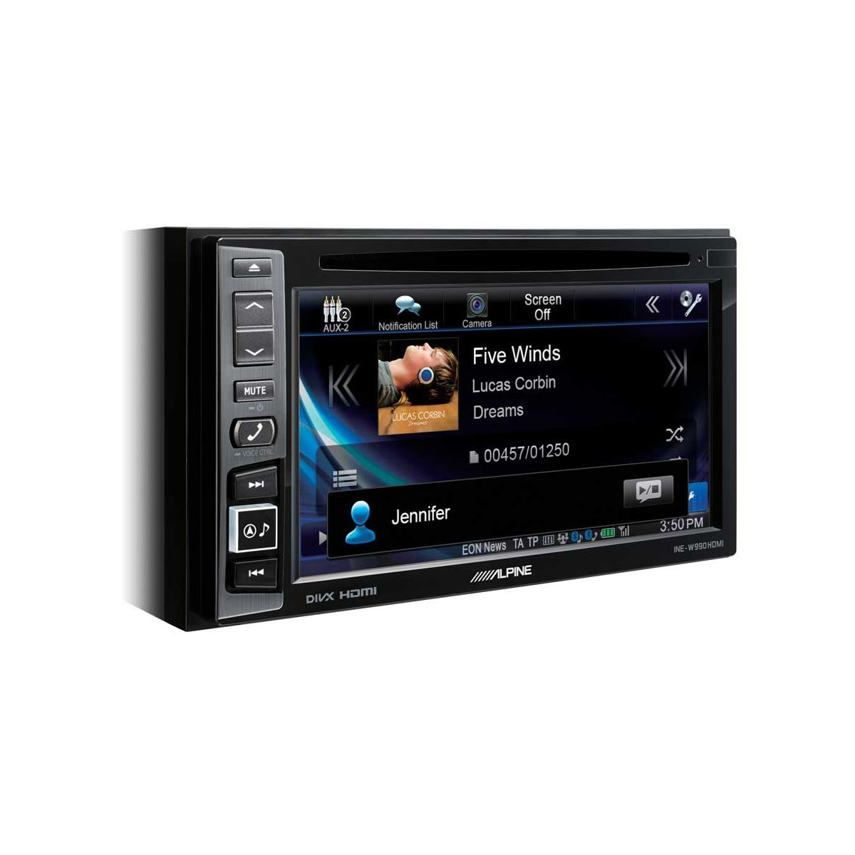 In Car Sat Nav Alpine Car Audio Systems INE-W990HDMI 1