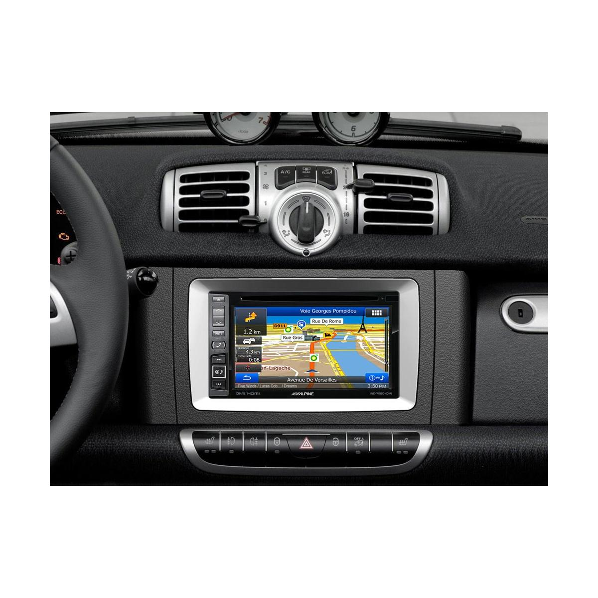 In Car Sat Nav Alpine Car Audio Systems INE-W990HDMI 5