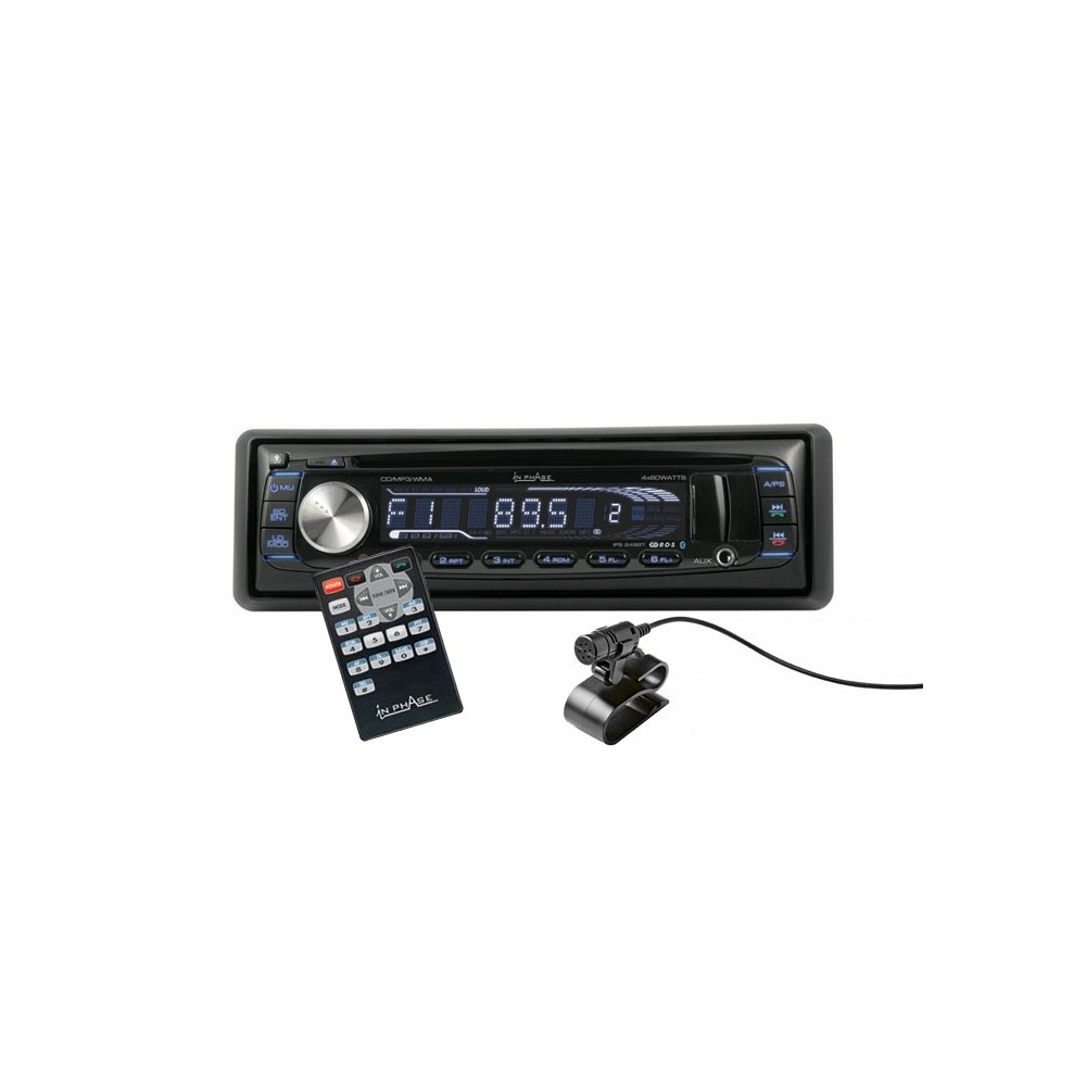In Phase IPS-249BT. IPS-249BT Bluetooth car stereo ...
