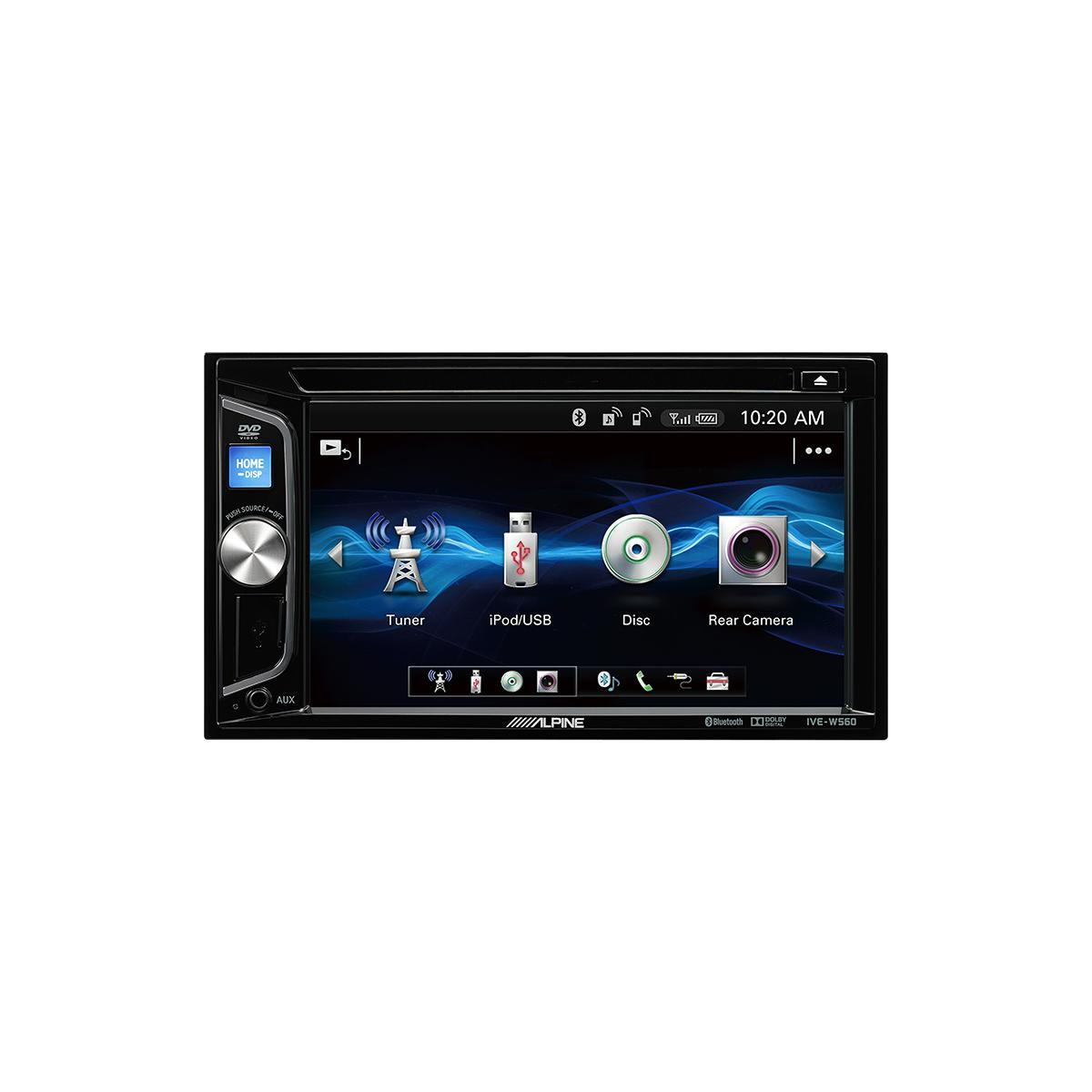 Double Din Screen Alpine Car Audio Systems IVE-W560BT 1